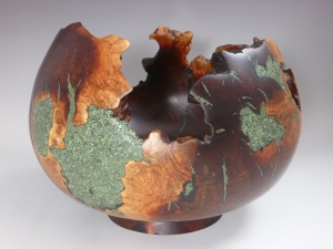 manzanita natural edge bowl